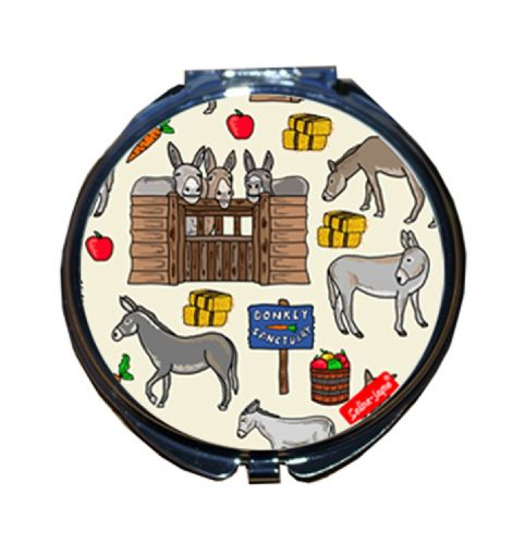 Selina-Jayne Donkey Limited Edition Compact Mirror